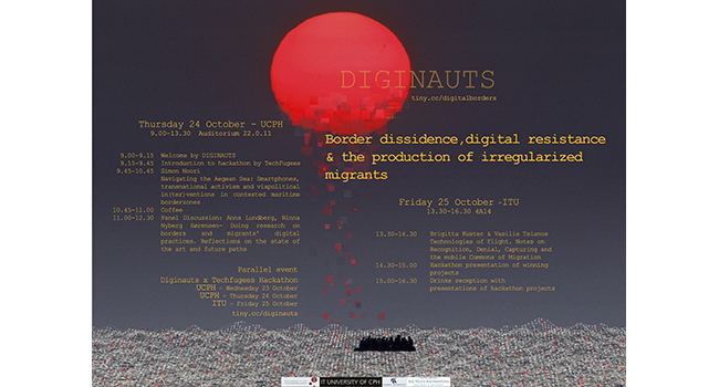 DIGINAUTS: Border dissidence, digital resistance and the production of irregularized migrants